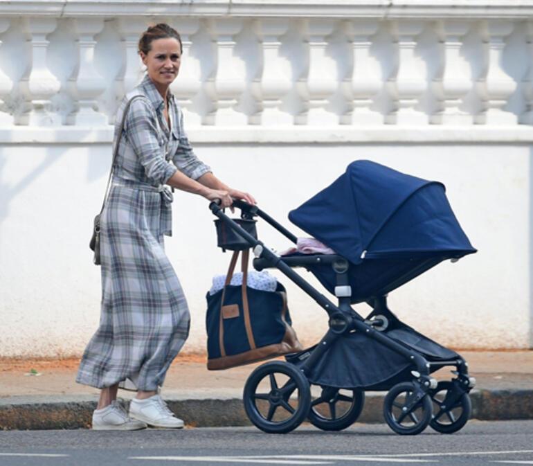 Pippa Middleton: İki çocukla uykusuz geceler!