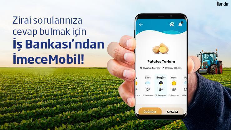 Çiftçiyi anlayan teknoloji: İmeceMobil