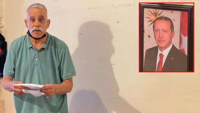 İsrail'in hazımsızlığı! Dükkanına Cumhurbaşkanı Erdoğan'ın fotoğrafını asan Filistinli'ye para cezası