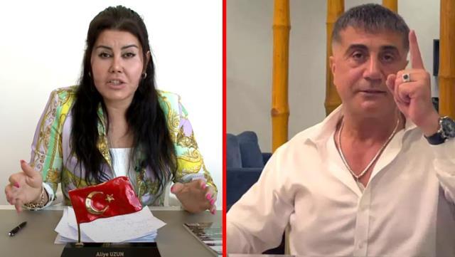 Sedat Peker'in ismini verdiği Aliye Uzun'dan hakkındaki iddialara yanıt: Zindaşti'yi şikayet ettim, devlet de bana koruma verdi